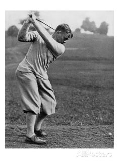 size: Premium Photographic Print: Bobby Jones, The American Golfer May 1932 by Edwin Levick : Golf 6, Play Golf, Golf Knickers, Vintage Golf, Golf Tips For Beginners, Golf Quotes, Golf Lessons, Golf Fashion, Ladies Fashion