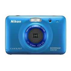 Nikon COOLPIX S30 10.1 MP Digital Camera with 3x Zoom Nikkor Glass Lens and 2.7-inch LCD (Blue) $79.00