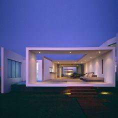 Gorgeous Pacific Ocean beach house. #design