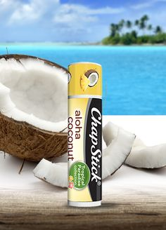 You had me at Aloha. Treat your lips to a beachy paradise with ChapStick® #LimitedEdition Aloha Coconut.  #chapstickobsessed #Walmart