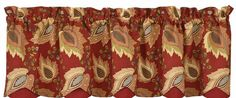 Emery Lined Scallop Curtain Valance