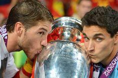 Sergio Ramos and Jesus Navas (euro 2012)