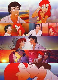Disney Couples - Ariel and Eric