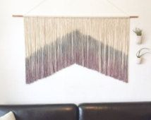 Large wall hanging, macrame wall hanging, large tapestry, wall art, wall decor.