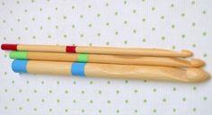 Agujas para crochet de bambú — Mis Lanitas