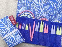 Denise 2 Go for Knitting, Sharp Short Tips, Complete Set at Dream Weaver Yarns LLC