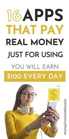 Make Side Money, Make Quick Money, Make Money From Home, Extra Cash, Extra Money, Best Money Making Apps, Apps That Pay You, Earn Money Online Fast, Instant Money