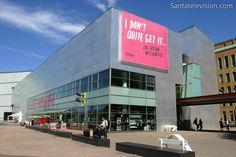 Museum of Contemporary Art Kiasma in Helsinki in Finland