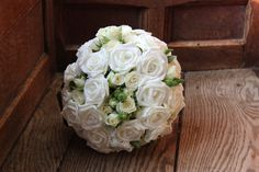 Artificial and Real Rose Handtied Bouquet
