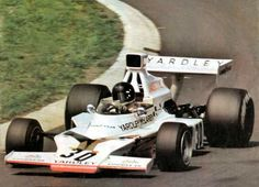 Jacky Ickx's M23 at the Nürburgring, 1975