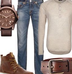 Casual man style.