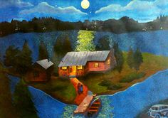 Moonlight on Mistawis by Artwords on deviantART from the book the blue castle by LM Montgomery
