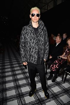Pin for Later: See Every Celeb Who Sat Front and Center at Paris Fashion Week Jared Leto