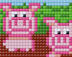 :varkens #pixelhobby #pixel.gift