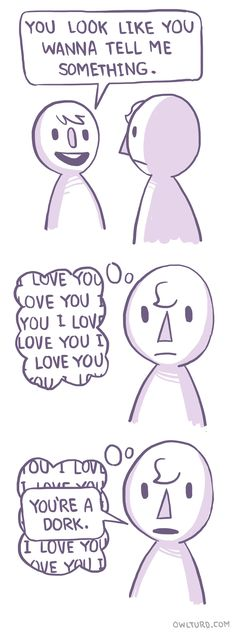 Humans | By Owl Turd Comix [Comic - I Love You - Funny - Illustration]