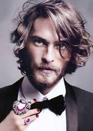 Image result for medium-long hairstyles men