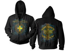 Amon Amarth Sweden Hoodie!