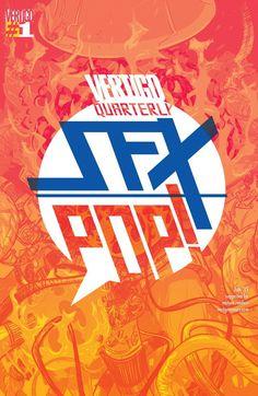 Vertigo Quarterly: SFX (2014) #1 #Vertigo #DC (Cover Artist: Nathan Fox) Release Date: 4/29/2015