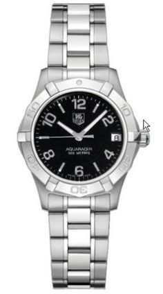 Amazon.com: TAG Heuer Women's WAF1310.BA0817 Aquaracer Quartz Watch: Tag Heuer: Watches