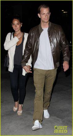 Olivia Munn & Joel Kinnaman: Holding Hands at the Movies.