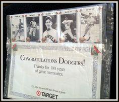 LOS ANGELES DODGERS 100 YEAR ANNIVERSARY TARGET SET 1890-1990 IN ORIGINAL POLY #TVSPORTSMAILBAG #NewYorkYankees