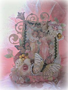 Victorian Fairy Tag