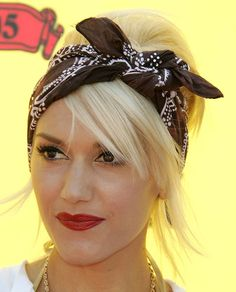 Love the bandana look and of course Gwen totally rocks it!