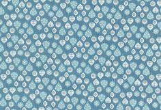 Westfalenstoffe - Kitzbühel Blätter jeansblau