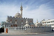 Jordania -Mezquita Abu Darweesh, en Amán.