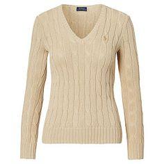 Polo Ralph Lauren - Zopfpullover mit V-Ausschnitt Kinderbekleidung,  Damenbekleidung, Zopfmuster Pullover, 5caf1ba33f