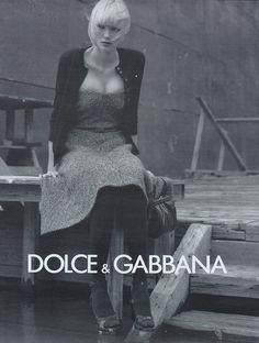Dolce & Gabbana A/W 1996/'97 Photographer : Steven Meisel Model : Shirley Mallmann Happy birthday, Shirley! (February 15, 1977, 38 today)