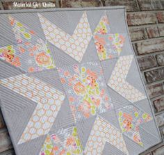 Starflower quilting