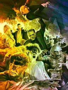 Universal Monsters art.                                                                                                                                                                                 More