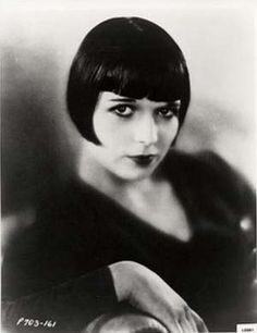 Louise Brooks and that iconic haircut.