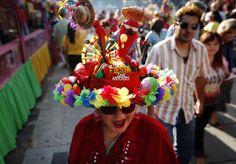 Crazy hats during Fiesta San Antonio! Photo courtesy of mysanantonio.com.