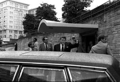 3/30/1981 -  John Hinckley Jr. attempts to assassinate President Ronald Reagan in a crowd of onlookers and security personnel--including police and Secret Service officers--outside a Hilton hotel in Washington, D.C. When asked about his motive for shooting the president, Hinckley revealed that he was seeking to gain the attention of the actress Jodie Foster.