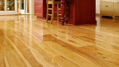hickory wood floors in kitchen - Google Search