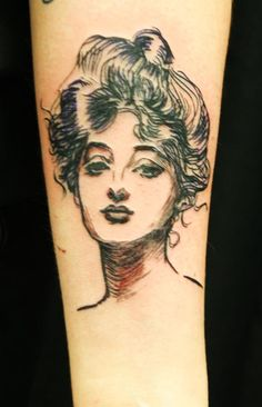 Gibson girl. I have to say, this is pretty cool.