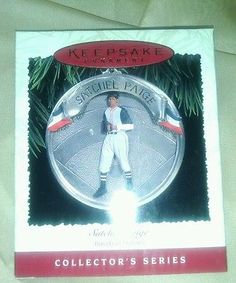 Hallmark Keepsake collector Series NIB! Satchel Paige Baseball Heros!