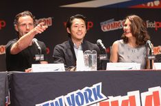 "Andrew Lincoln Photos: ""The Walking Dead"" NY Comic Con Panel"
