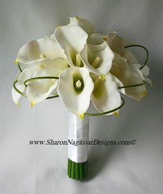 D'ann wedding   Google Image Result for http://www.sharonnagassardesigns.com/White-OffWhite-CallaLilyBidalWeddingFlowerSet/SharonNagassarDesigns-White-OffWhite-CallaLilyBridalWeddingFlowerSet-BridalBouquet-Side2.jpg
