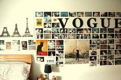 Allie's Bedroom- desire to travel.