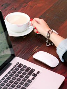 Coffee shops + Work = inspiring