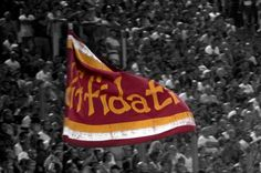 dalla Curva Sud | AS Roma vs Catania (26 Agosto 2012)    photographer: Barbara Errera