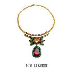 Swarovski necklace- Collection Heiress