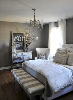 Amazing Sturdy Of Gray Bedroom