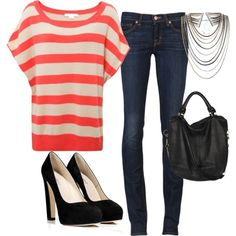 Polyvore Outfit, created by tmiller1427 on Polyvore.