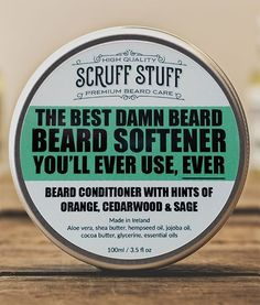 Review: Scruff Stuff Beard Conditioner is what you are looking for if you want a super soft beard! #beard #conditioner #review #reviews #product #products
