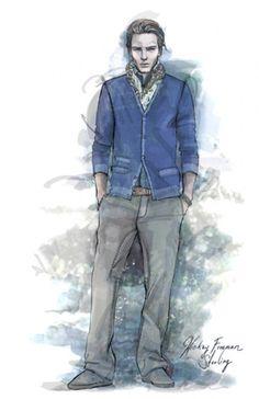 Menswear Sweater Illustration