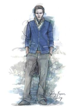 Menswear Sweater Illustration